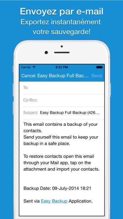 Screenshot #2 pour Easy Backup  Pro