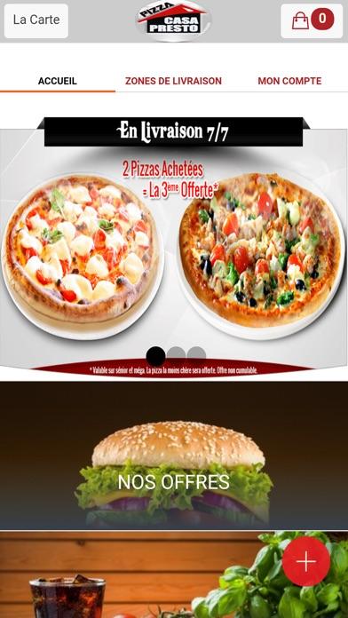 Pizza Casa Presto VitryCapture d'écran de 1