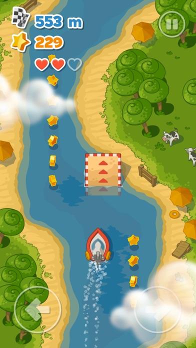 Little Boat River Rush Screenshot