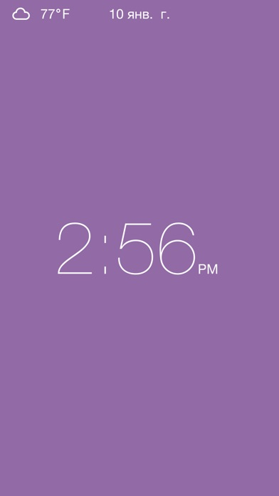 Clock - Modern deskclock with nightstand modeСкриншоты 5