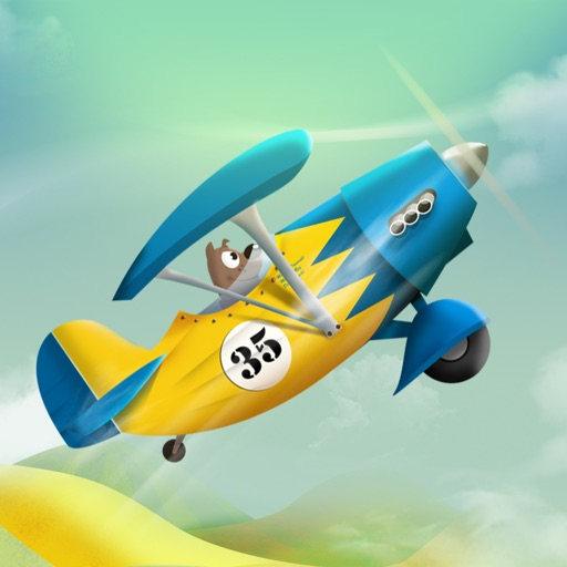 Tiny Plane - Infinite Puppy Airplane Racing!