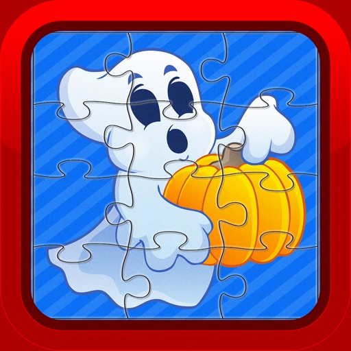 Cute Halloween Jigsaw Puzzle Games for Toddlers iOS App