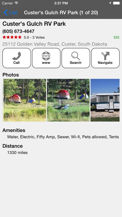 Rv Parks Amp Campgrounds On The App Store