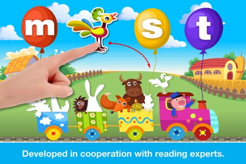 Phonics Fun on Farm Educational Learn to Read App screenshot 3