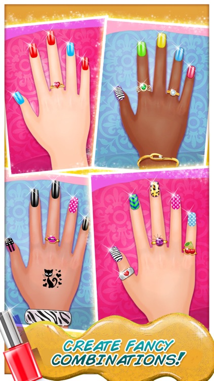 High school nail art nail salon girls game by nasar khan high school nail art nail salon girls game prinsesfo Gallery