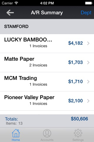 cieMobile for iPhone screenshot 2