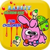 Rabbit Coloring Book For Children