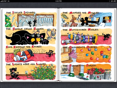A Bad Kitty Christmas by Nick Bruel on iBooks