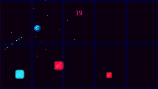 Bouncing Ball Reaction Time Screenshot