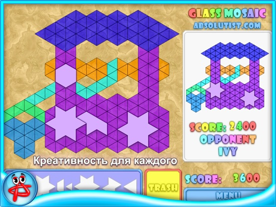 Glass Mosaic: Мозаика для iPad