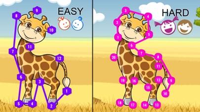 点つなぎキッズのためのどうぶつたち無料のパズルゲーム - 子供たちはのスクリーンショット2