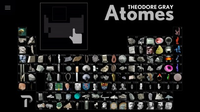 Screenshot Atomes par Theodore Gray