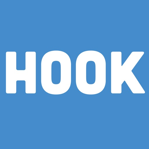 HooK Messenger and Friend Finder iOS App