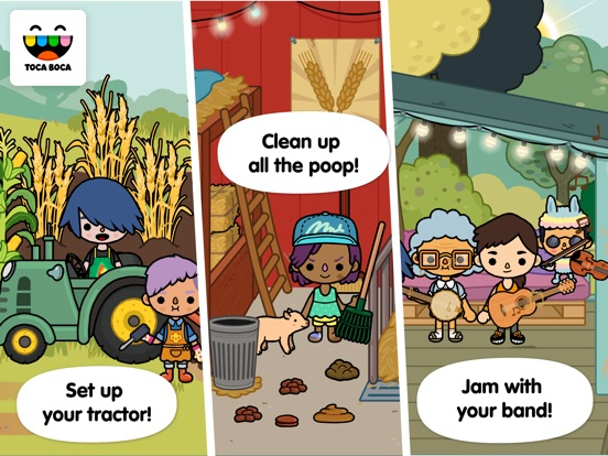 Screenshot #2 for Toca Life: Farm