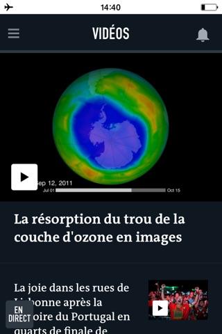 Le Monde, l'info en continu screenshot 4