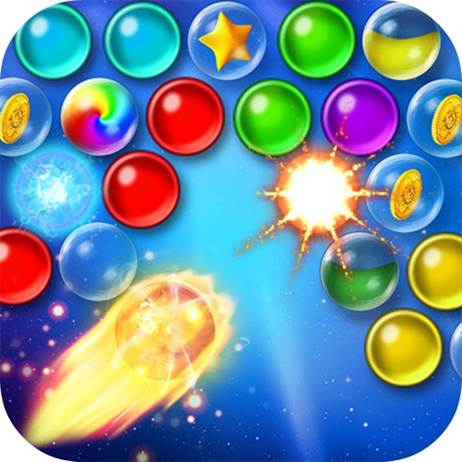 Bubble Burst Super Planet iOS App