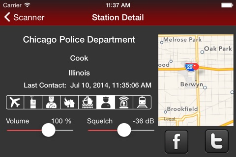 Action Scanner PRO - Police Fire and EMS screenshot 4