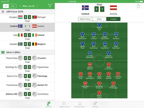 Soccer Scores & Alerts screenshot 2