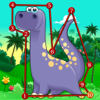 Dino Dot: Dinosaurs Connect the dots game for kids
