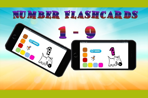 number abc baby flashcards for toddlers kids screenshot 3