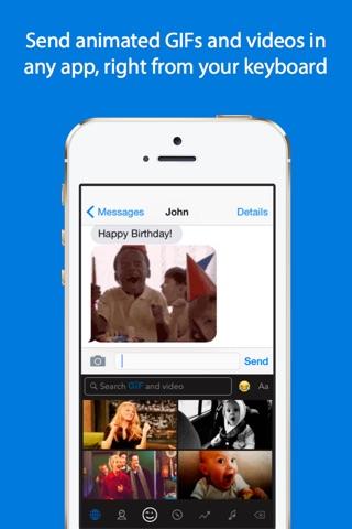 GIF Keyboard screenshot 1