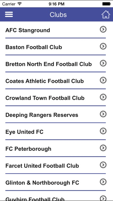 download Peterborough & District Football League apps 2