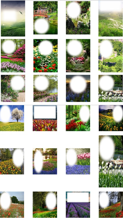 Garden Photo Frames Garden Wallpaper by Janice Ong