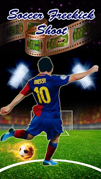Soccer Freekick Shoot : Lionel Messi Edition Screenshot