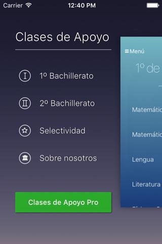 Clases de Apoyo screenshot 1