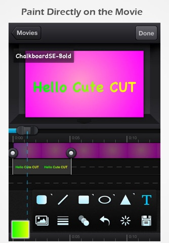 Cute CUT Pro - Full Featured Video Editor screenshot 2