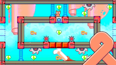 Silly Sausage in Meat Land screenshot three