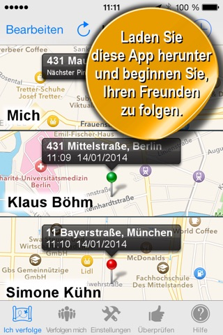 Phone Tracker for iPhones screenshot 2
