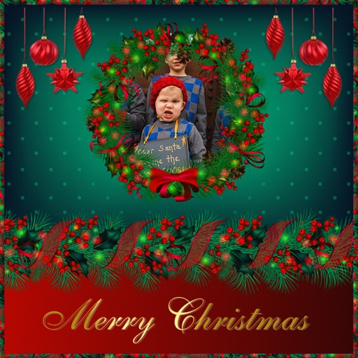 Christmas Special Picture Frame - Colorful Frames iOS App
