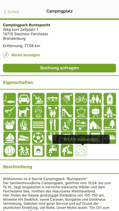 Max Camping - Campingplatz buchen Screenshot