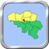 Belgium Puzzle Map