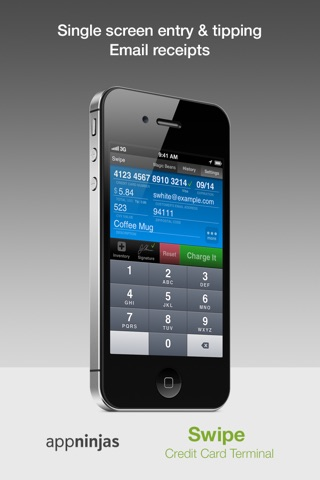 Swipe Credit Card Terminal screenshot 2