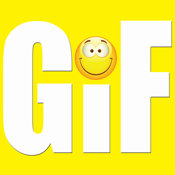 Gkf : Gif Keyboard Free & Animated Emojis Stickers Emoticons for Whats.app Chatting icon