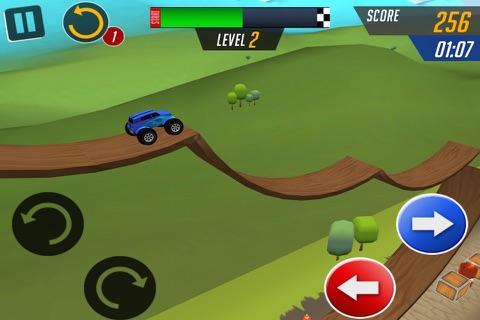 Monster Car Stunts Racing screenshot 4