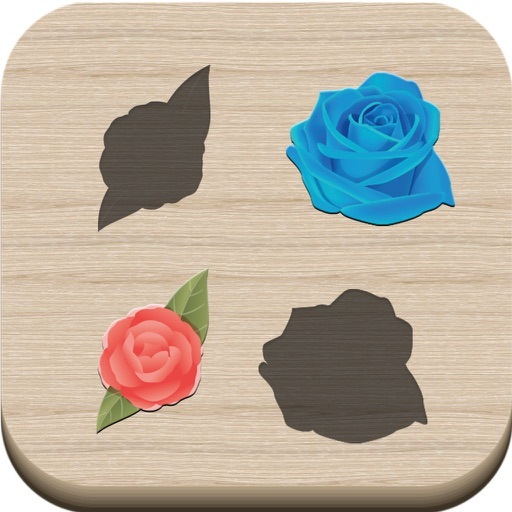Puzzle for kids - Roses iOS App