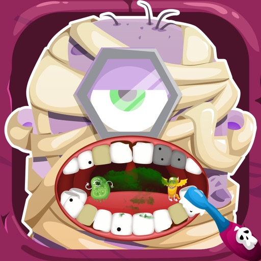 Inside Monster Nick's Halloween Dentist – Teeth Games for Minion Free iOS App
