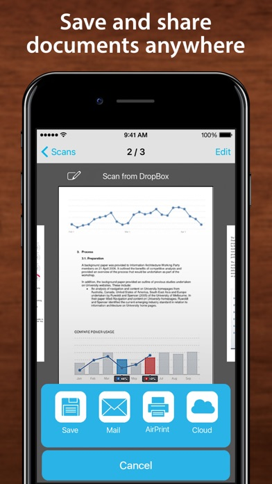 download One Scanner PRO - scan to PDF document and print appstore review