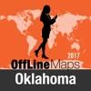Оклахома Оффлайн Карта и