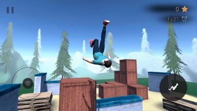 Скриншот Parkour Flight 2