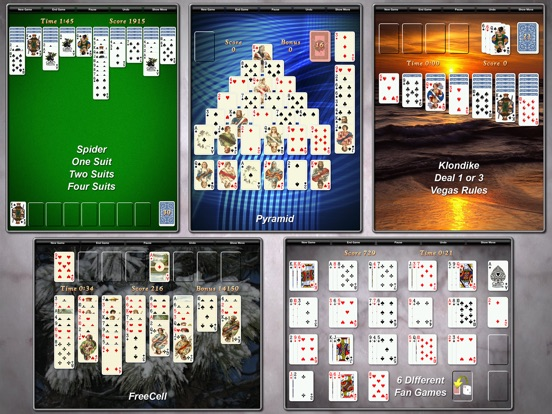 Screenshot #3 for Solitaire City (Free)