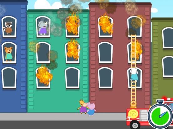 Гиппо: Пожарный патруль для iPad
