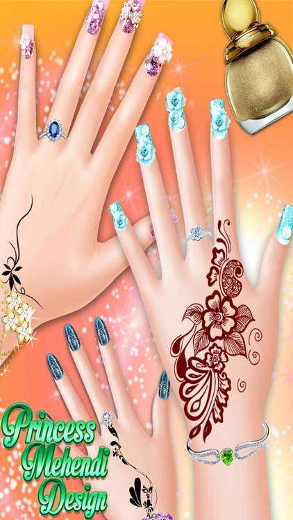 Princess mehndi designs nail art salon girls game by rameshbhai patel princess mehndi designs nail art salon girls game prinsesfo Gallery