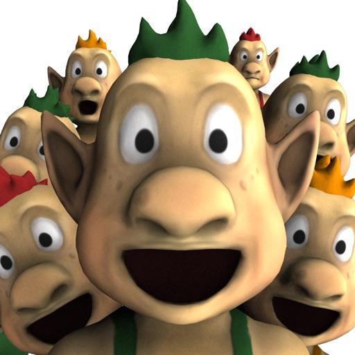 Crazy Trolls - Make Them Fly! iOS App