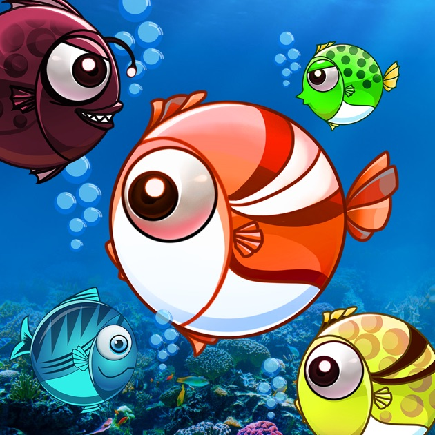 Fish war world of shark hungry feeding game on the app for Fish world game