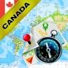 カナダ - オフライン地図&GPSナビゲータ
