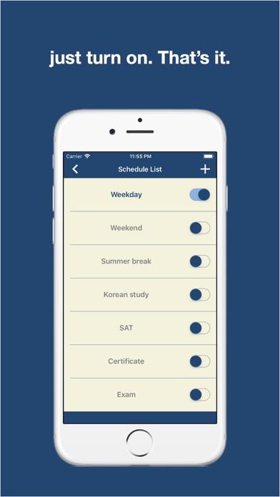 Daily planner, School Bell screenshot 3